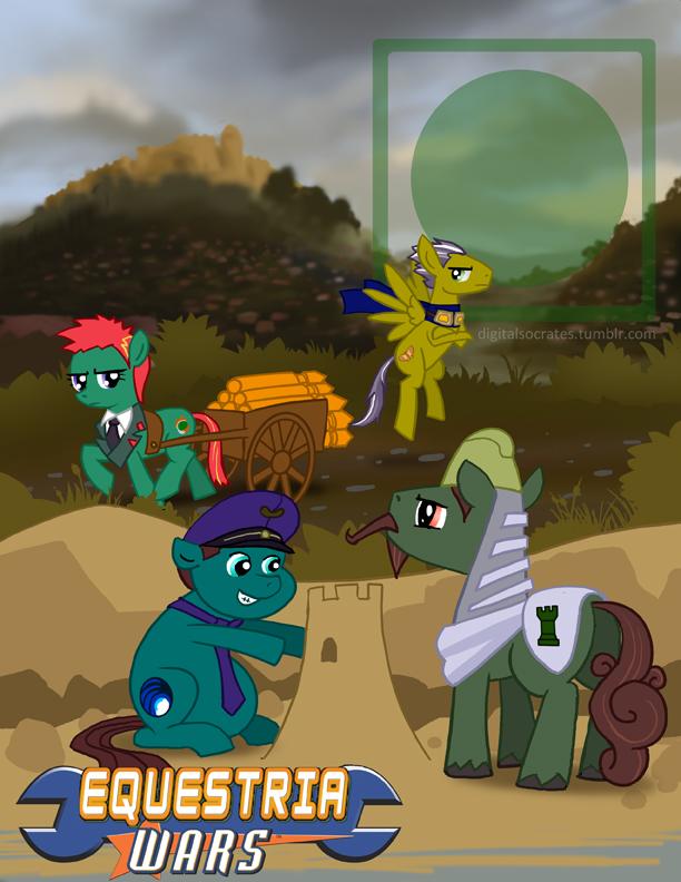 Equestria Wars Green Earth By Digital Socrates On Deviantart