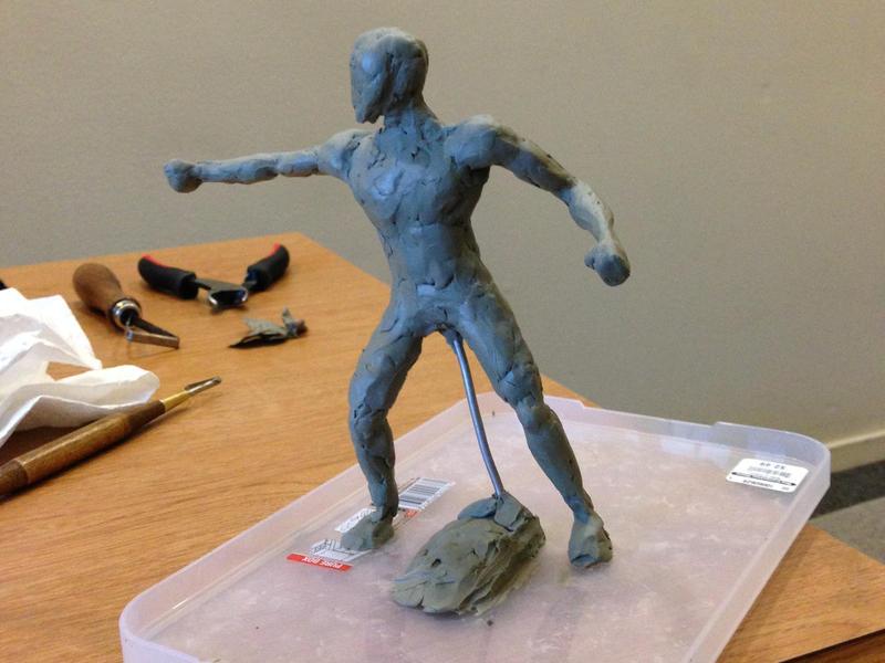 sculpture work in progress by josholeus
