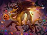 Candycorn Dragon