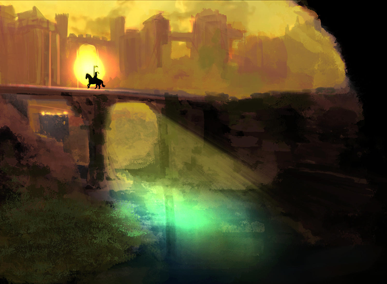 Knight Crossing by Fieldweeble