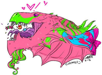candy dragon by HoleWeet