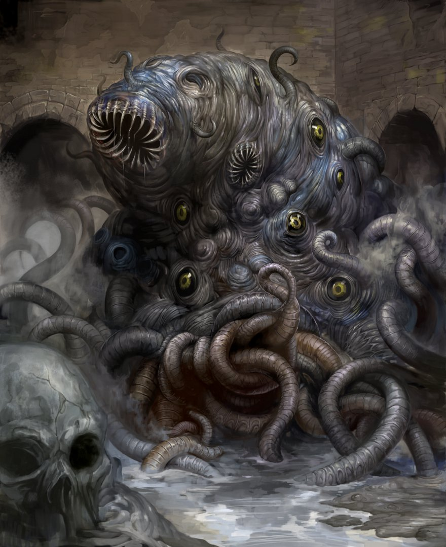 Shoggoth by douzen on DeviantArt