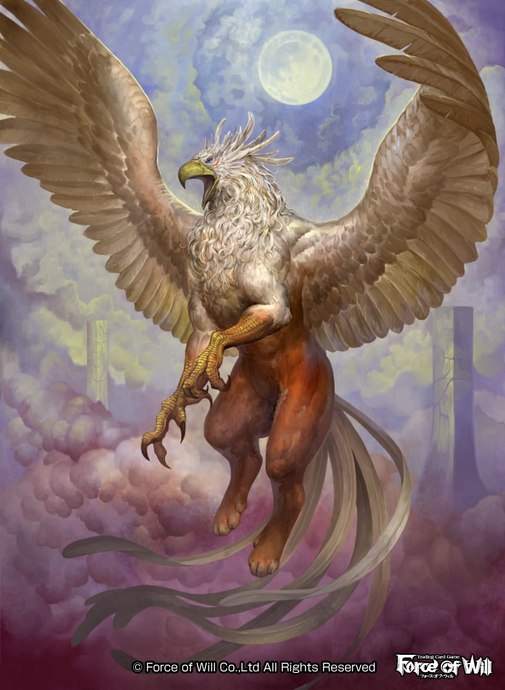 Griffin by douzen on deviantart - Animales mitologicos grifo ...