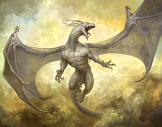dragon by douzen