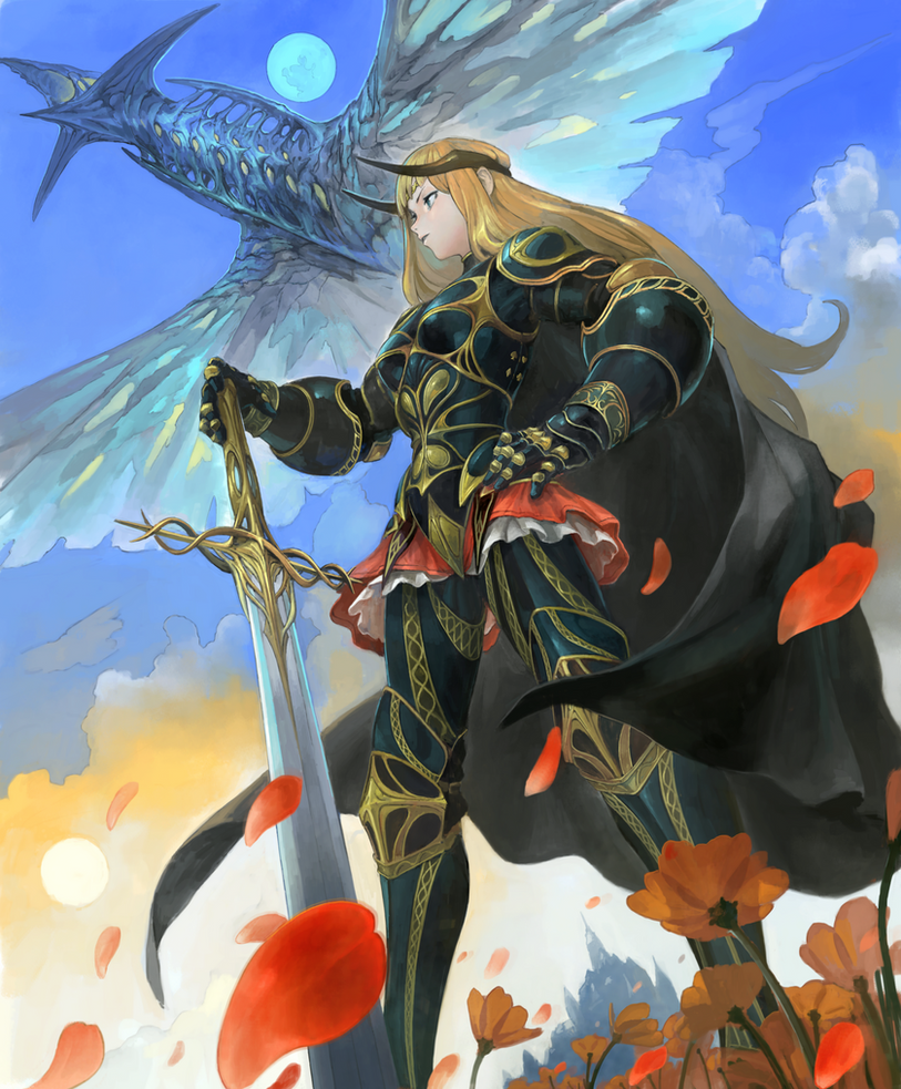 Knight by douzen