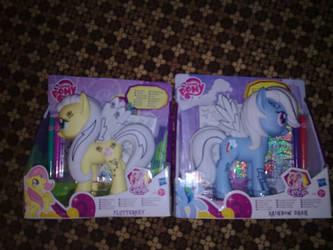 my new little ponies by minokyoko
