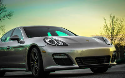 Behold, the Porsche by Exper1mental