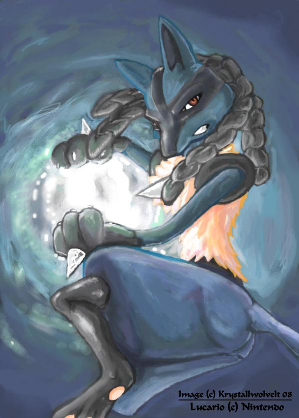 Super smash bros brawl lucario by KrystallWolveltLucario Brawl White
