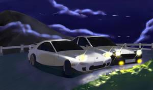 Drifting in the night