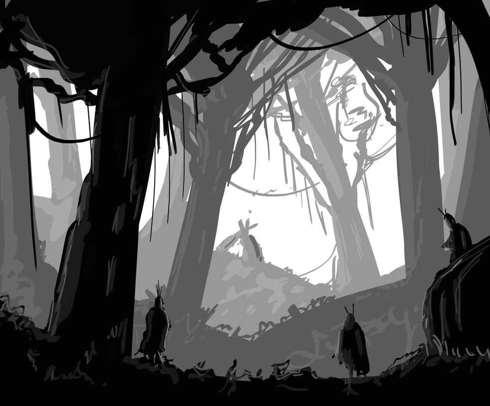 My first sketch by Syddarta