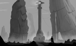 Le phare cache by Syddarta