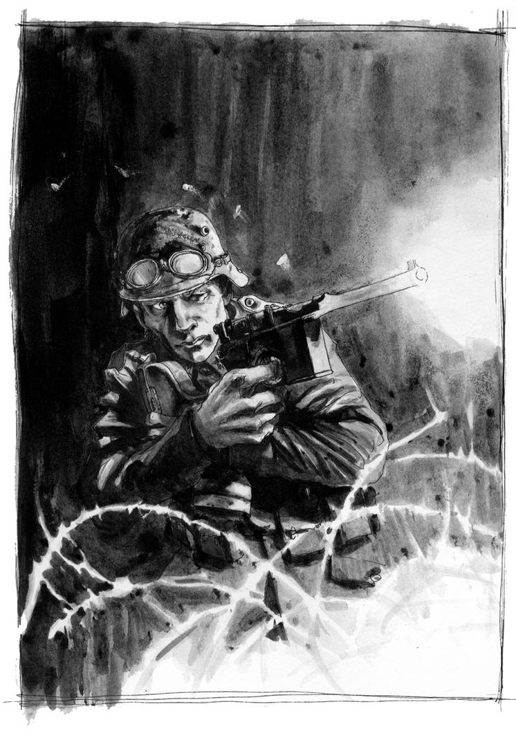 WW1 German Soldier by Rufus-Jr