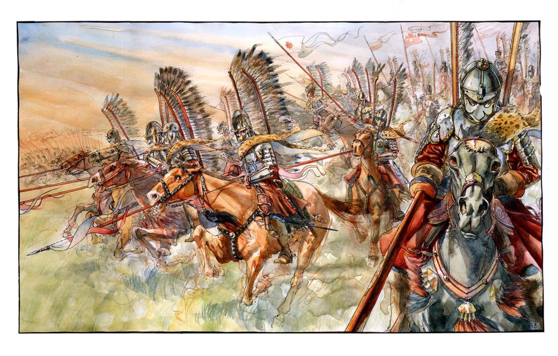 The Winged Horsemen by Rufus-Jr