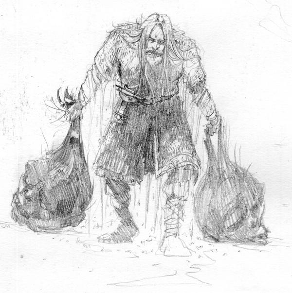 Beowulf's Trophy. by Rufus-Jr