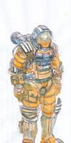 Astronaut. by Rufus-Jr