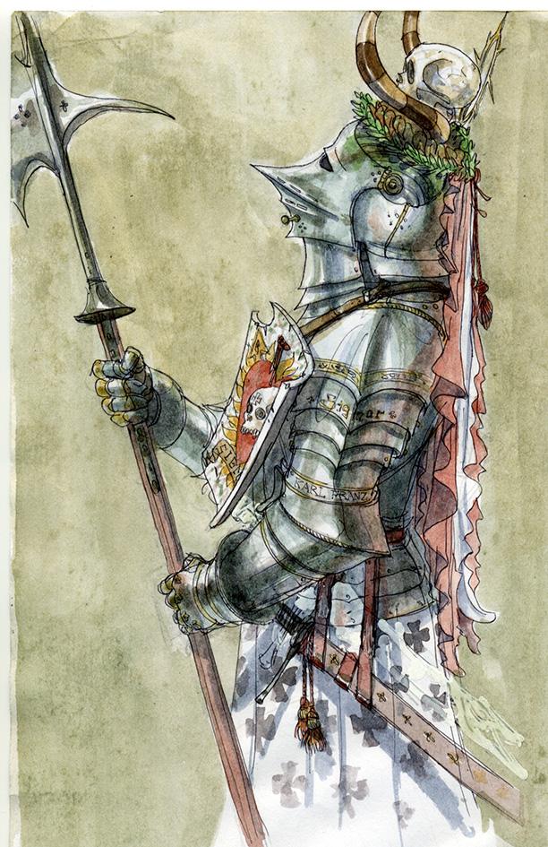 Knight of the Fiery Heart by Rufus-Jr