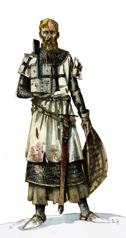 Teutonic knight by Rufus-Jr