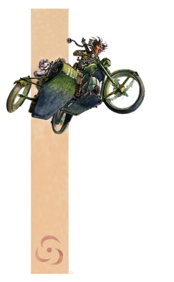 Sillage sidecar by Rufus-Jr