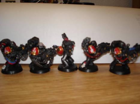 Black Knights Devestators 1-1