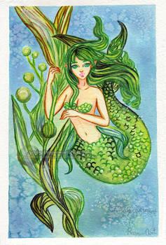 Mermay 2019: Seaweed Mermaid