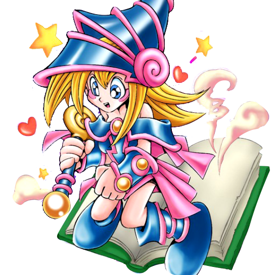 Toon Dark Magician Girl PNG by Carlos123321