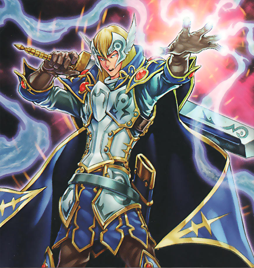 Trance the Magic Swordsman Artwork Yu-Gi-Oh! by Carlos123321