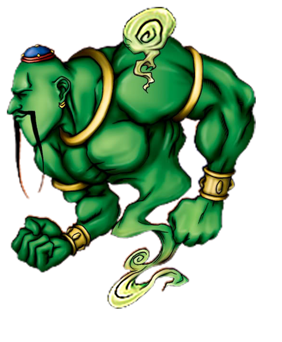 La Jinn the Mystical Genie of the Lamp png by Carlos123321