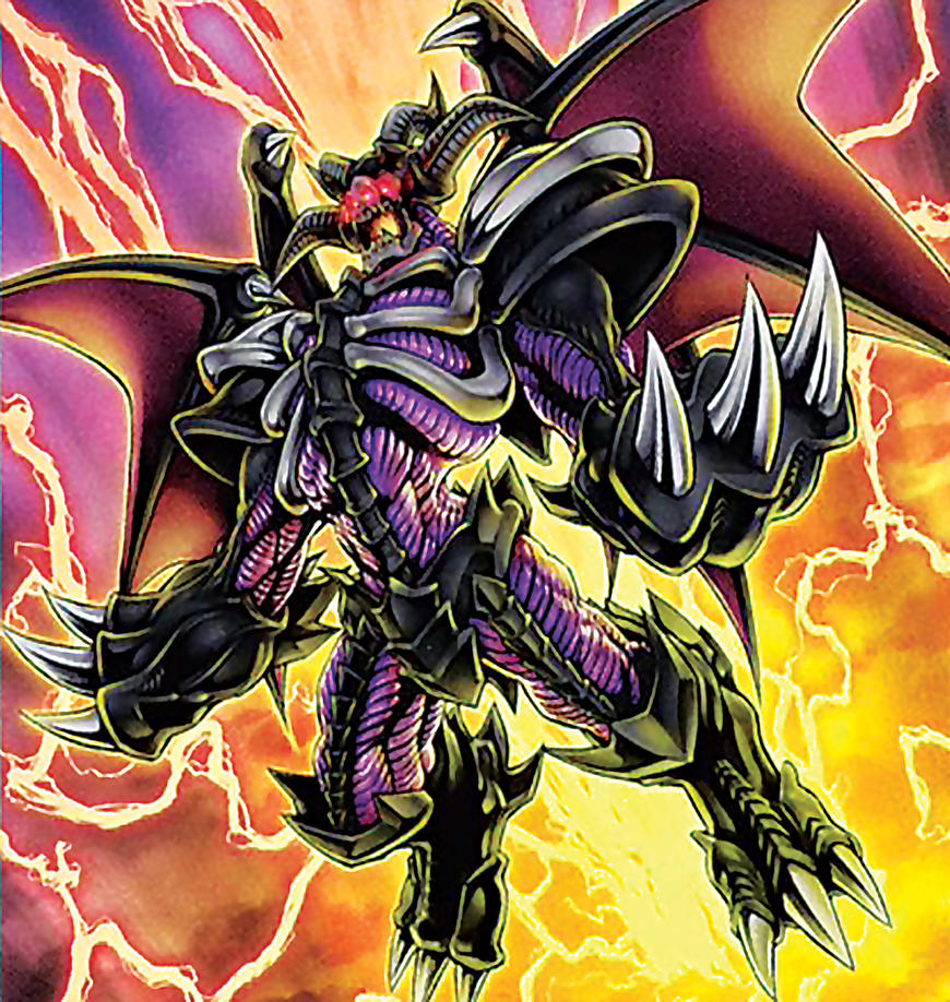 Red-Eyes Archfiend of Lightning Artwork by Carlos123321