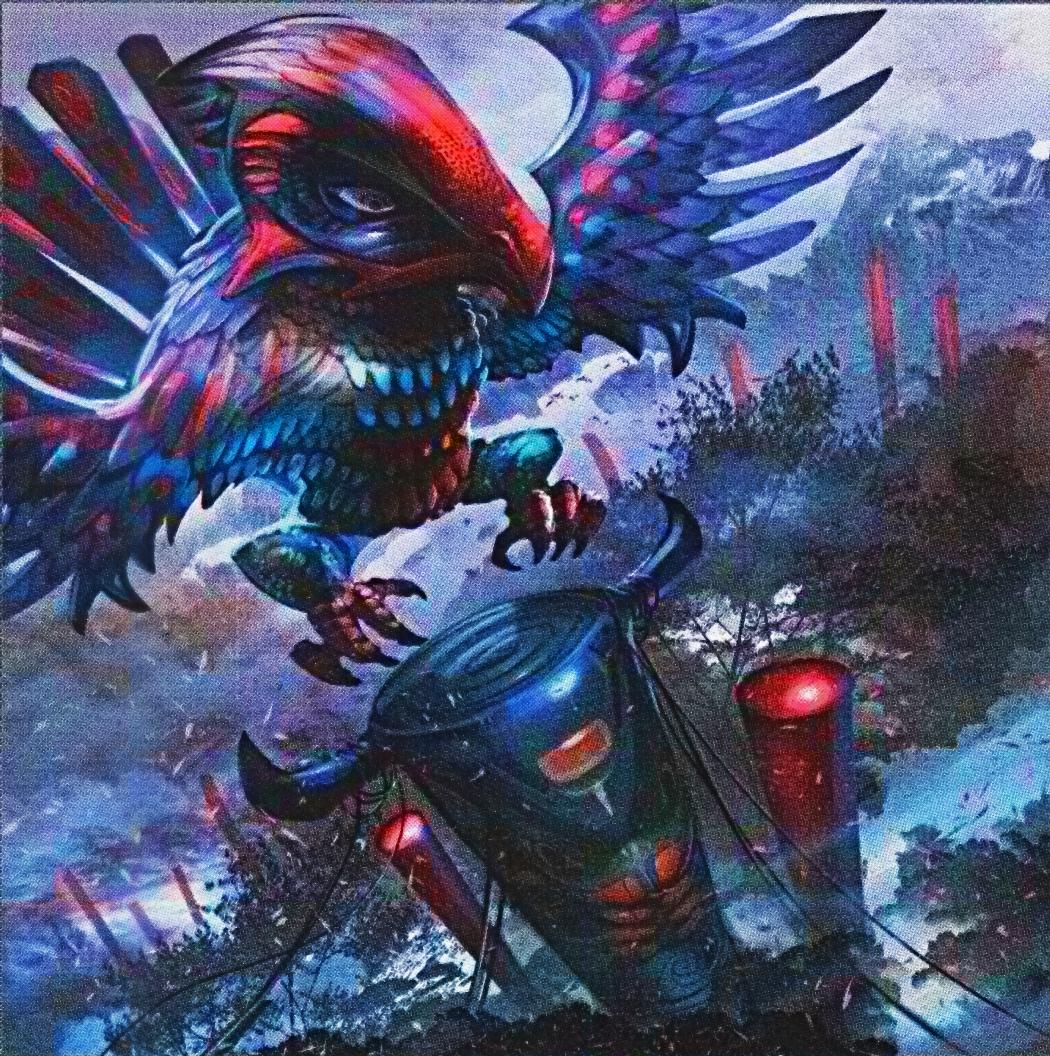 Totem Bird Artwork Yugioh by Carlos123321