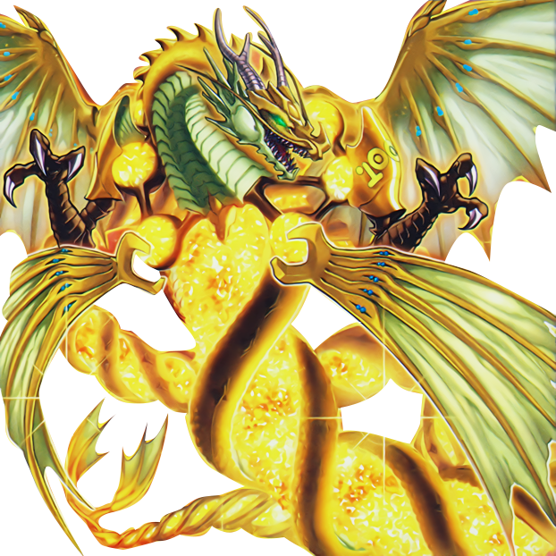 Number 100: Numeron Dragon - PNG by Carlos123321