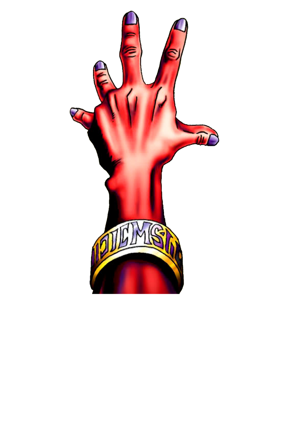 The Judgement Hand png by Carlos123321
