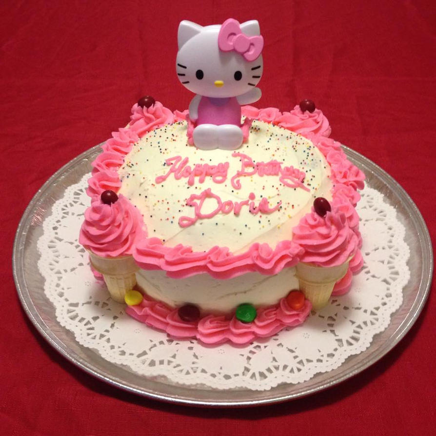 Hello Kitty Design Cake Goldilocks : Hellokitty cake by SamuelDesigns on DeviantArt