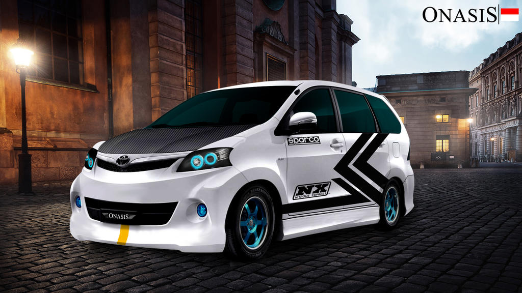 New Avanza Modified by onasis27 on DeviantArt