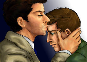 SPN - Destiel -Small gestures by Little-Tuss