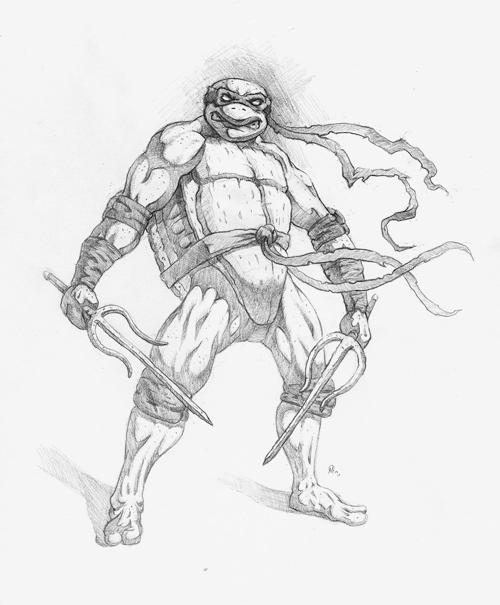 Teenage Mutant Ninja Turtle - Raphael by adammiconi on ...