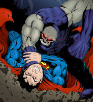 Superman vs. Darkseid Colors by adammiconi