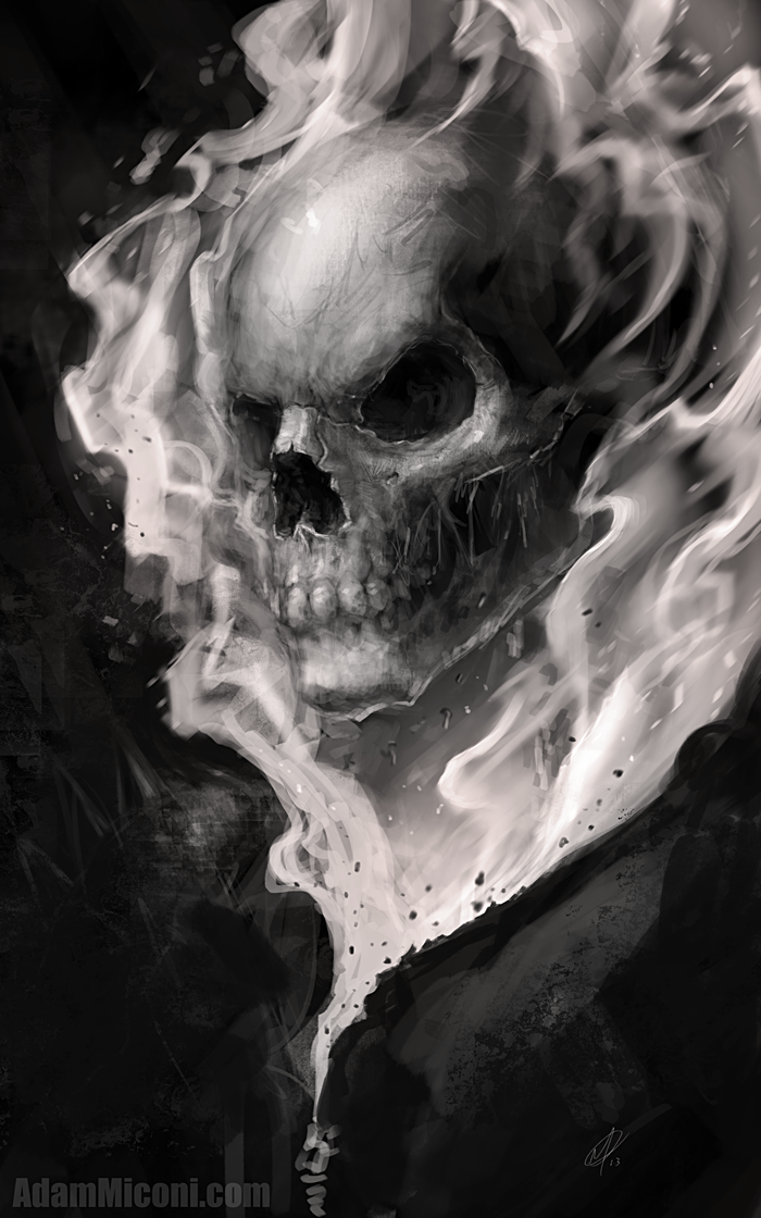 Ghost Rider - Final by adammiconi