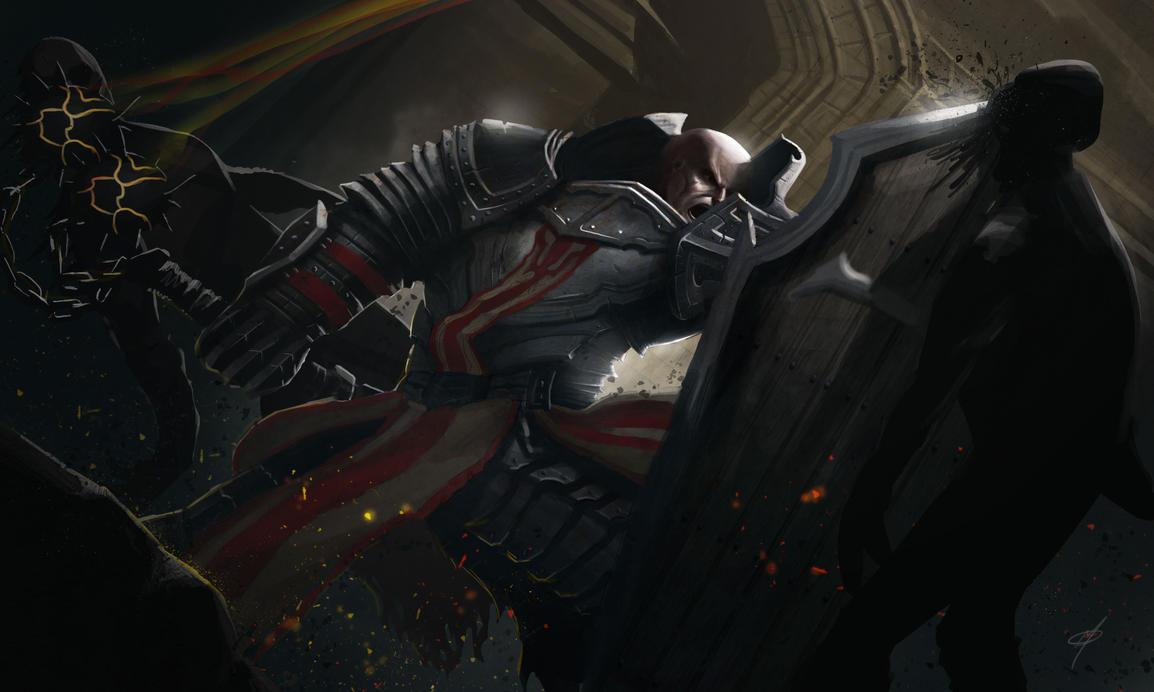 Diablo 3 Contest: Crusader by adammiconi