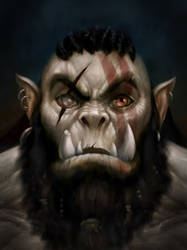 Orc Painting
