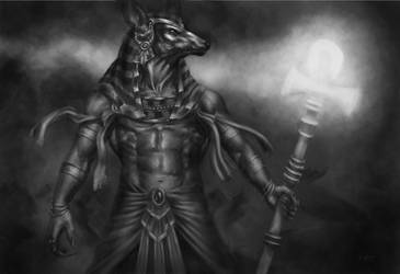 Anubis Value Study by adammiconi
