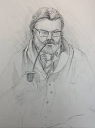 Figure Drawing | The Pastor