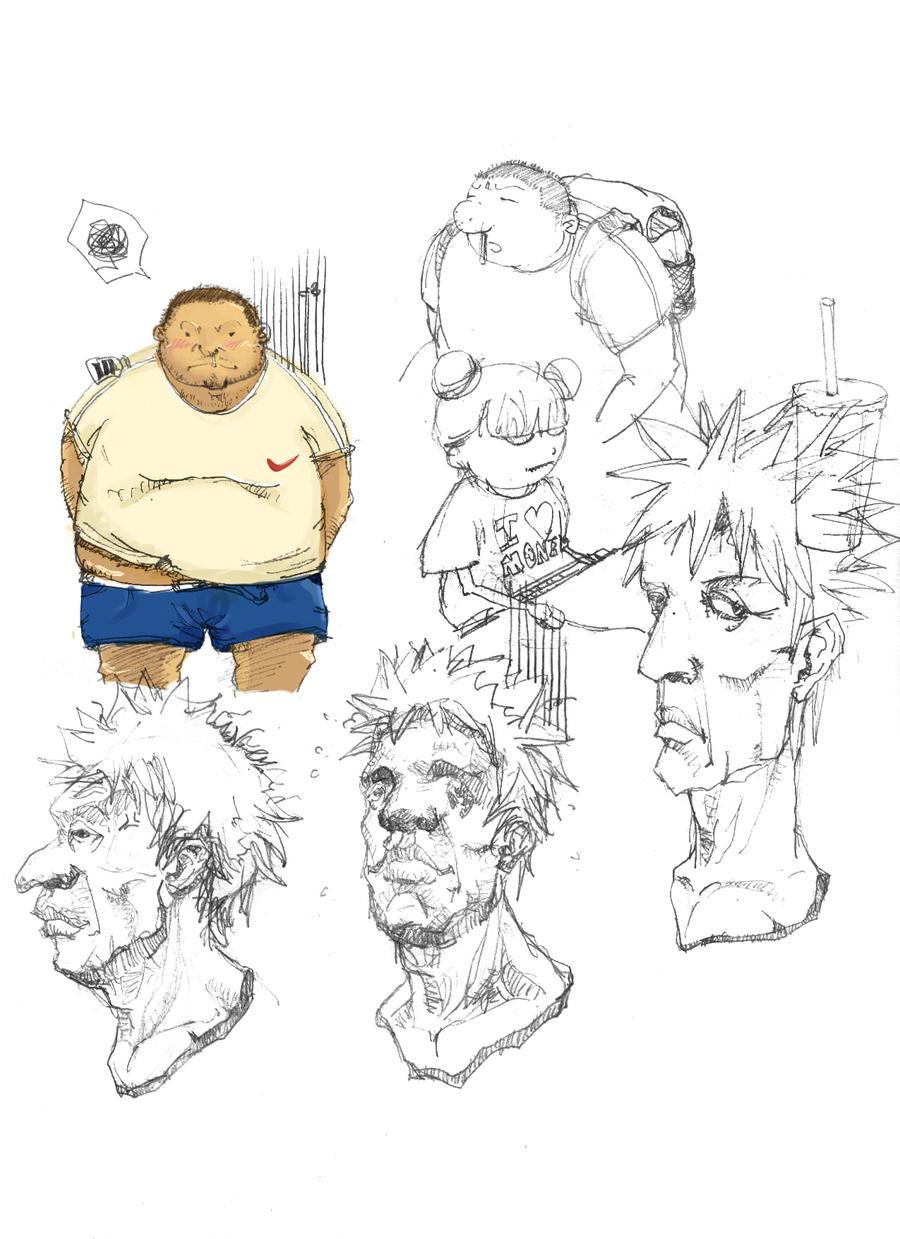 fat guy by 9923002