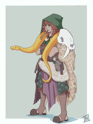 Moira by LittleWrenArt
