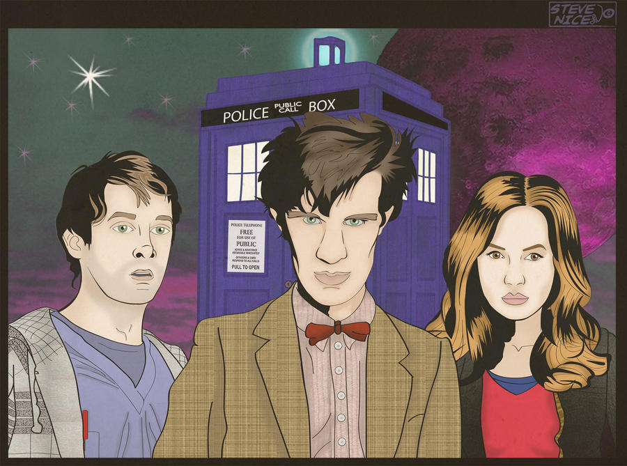 Doctor Who by Steve-Nice