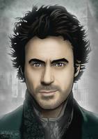 Sherlock Holmes by Steve-Nice