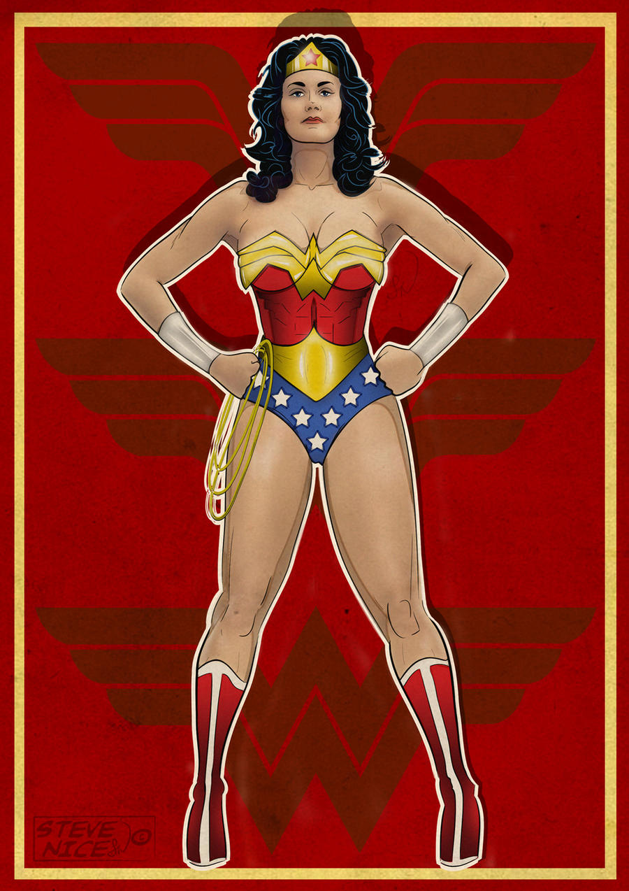 Wonder Woman by Steve-Nice