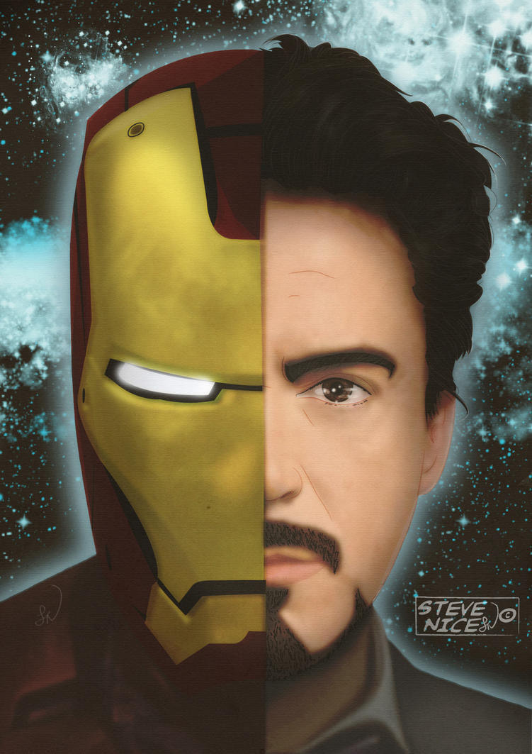Iron-Man by Steve-Nice