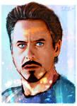 Tony Stark Coloured