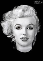 Marilyn Monroe by Steve-Nice