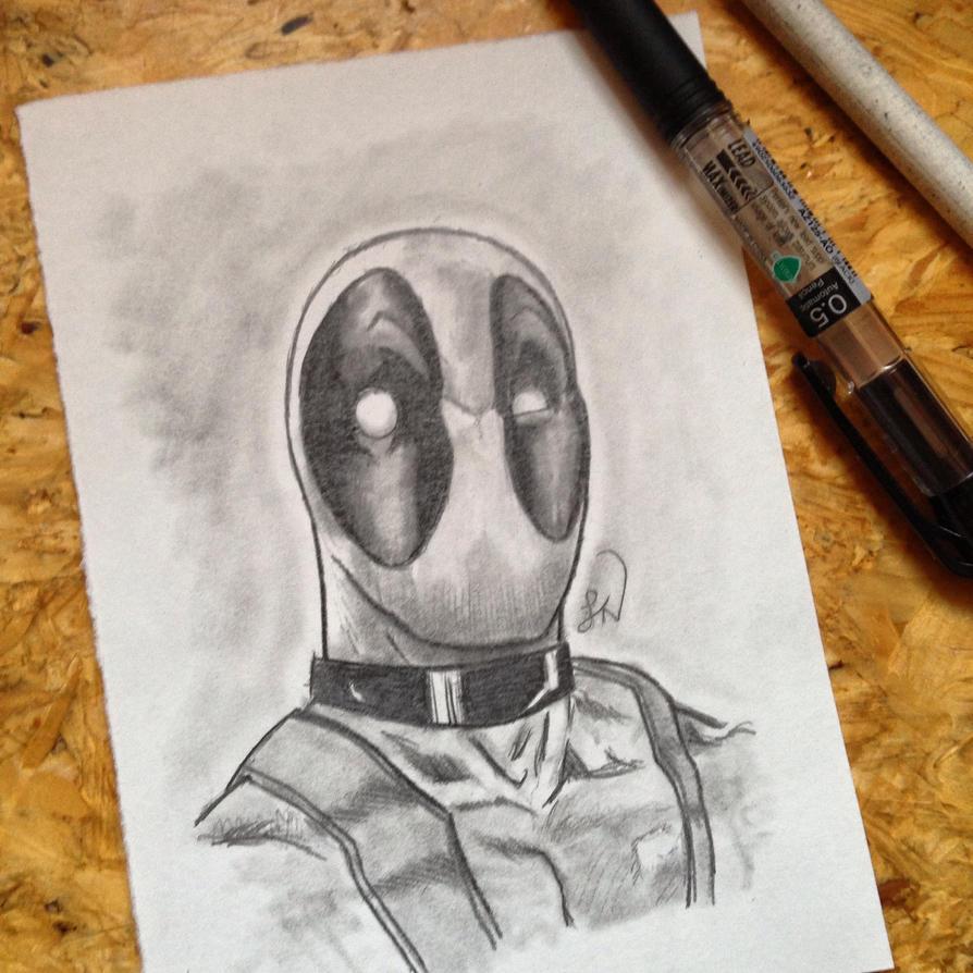 Deadpool Sketch by Steve-Nice